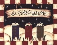 All Flakes Welcome Fine Art Print