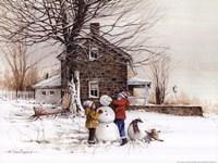 The Joy of Snow Fine Art Print