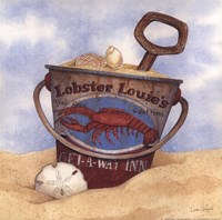 Lobster Louie's Framed Print