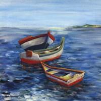 Vibrant Sea I Fine Art Print