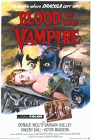 Blood of the Vampire Fine Art Print