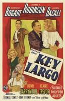 Key Largo Bogart Robinson Bacall Fine Art Print