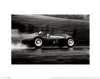 Grand Prix of Belgium, 1955 Fine Art Print