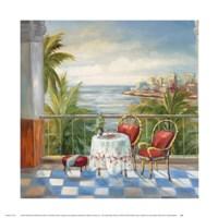 Terrace View 3 Fine Art Print
