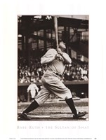 Babe Ruth - The Sultan of Swat Framed Print