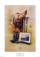 Equestrian Illustration II Fine Art Print