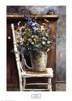 Morning Arrangement, 1987 Framed Print