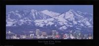 Salt Lake City, Utah Framed Print