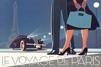 Le Voyage de Paris II Fine Art Print