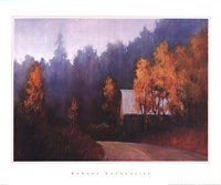Back Roads Fine Art Print