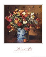 Spring City Still Life Fine Art Print