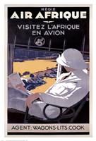 Air Afrique Framed Print