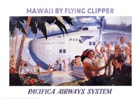 Honolulu Clipper Fine Art Print