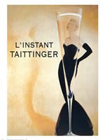 L'Instant Taittinger Fine Art Print