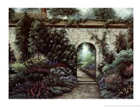 The Garden Gate Fine Art Print
