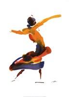 Dancer II Framed Print