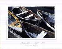 Wooden Fleet Fine Art Print