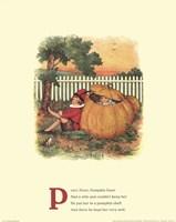 Peter, Peter Pumpkin Eater Fine Art Print