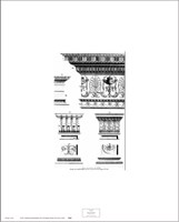 Neoclassical Entablature Fine Art Print