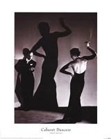 Cabaret Dancers Framed Print