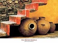 Old Water Vessels Fine Art Print