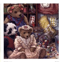 Buttons N' Bears Fine Art Print