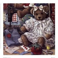 Bears N' Bows Framed Print