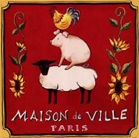 Maison De Ville Framed Print