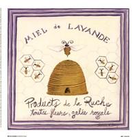 Miel De Lavande Fine Art Print