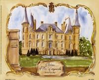 Chateau Pichon Fine Art Print