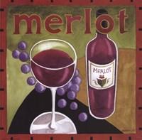 Vintage Wine IV Framed Print
