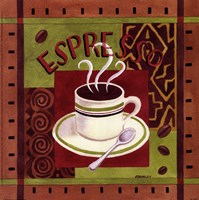 Cafe Exotica I Framed Print