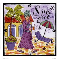 Spa Girl Fine Art Print