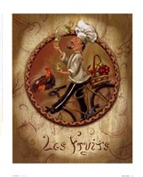 Les Fruits Framed Print