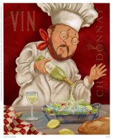 Wine Chef II Fine Art Print