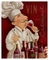 Wine Chef III Framed Print