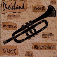 Dixieland Sound Fine Art Print