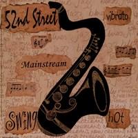 52nd Street Sound Fine Art Print