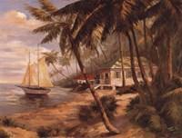 Key West Hideaway Fine Art Print