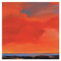Red Sky Fine Art Print