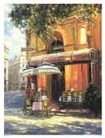 Cafe Tente de Verre Fine Art Print