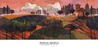 Tuscan Landscape Fine Art Print
