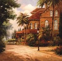 Hacienda de Santiago Fine Art Print