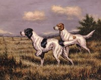 Bird Dogs Fine Art Print