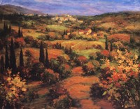 Umbria Panorama Fine Art Print
