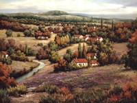 Villagio Distante I Fine Art Print