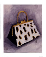Cat Purse Framed Print