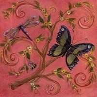 Butterfly Pink Fine Art Print
