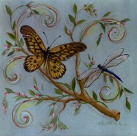 Butterfly Turquoise Fine Art Print