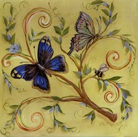Butterfly Yellow Fine Art Print